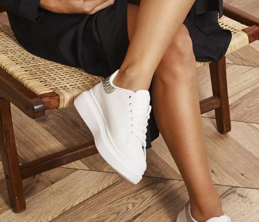 Sneakers dama Albi foarte ieftini si frumosi cu talpa groasa la moda