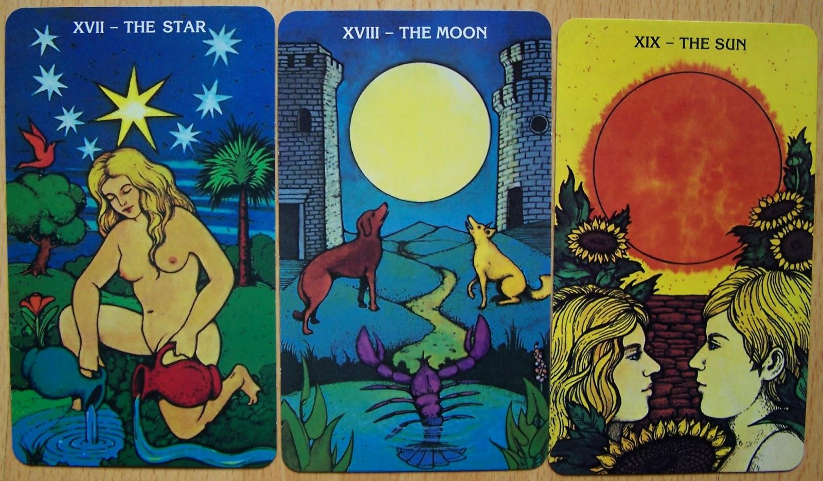 Dzień szósty dnia siódmego czyli: Gwiazda, Księżyc, Słońce - analogia