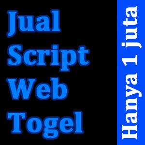 Jual Script Web Togel Online Aman dan Terpercaya