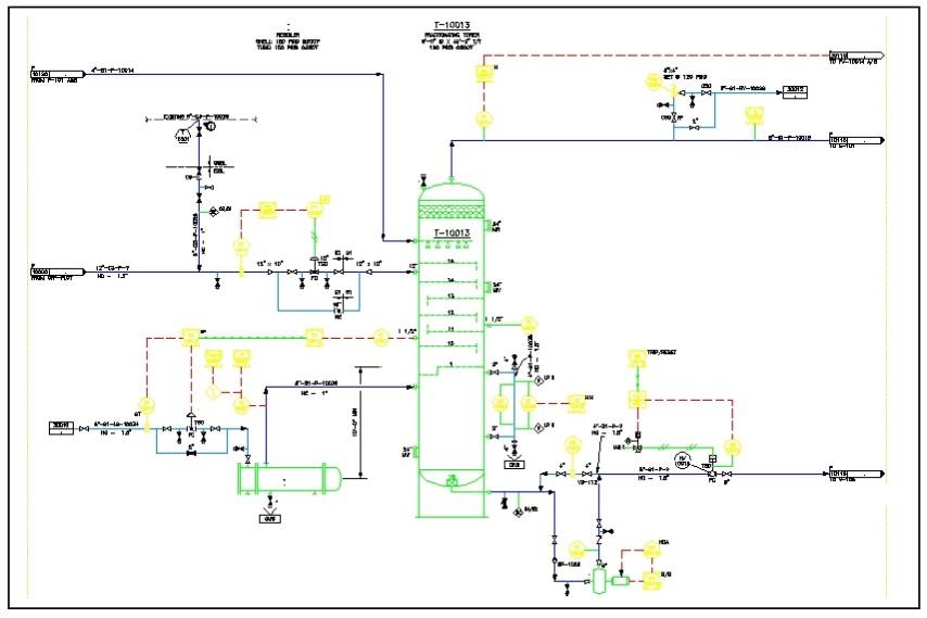 Cómo crear un P&ID, validarlo y realizar un ruteo de tuberías en AutoCAD P&ID