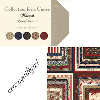 Moda COLLECTIONS FOR A CAUSE WARMTH Quilt Fabric by Howard Marcus