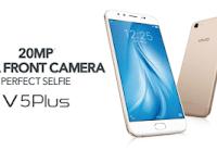 Vivo V5Plus, Smartphone Pertama Dengan Fitur 20MP Dual Front  Camera