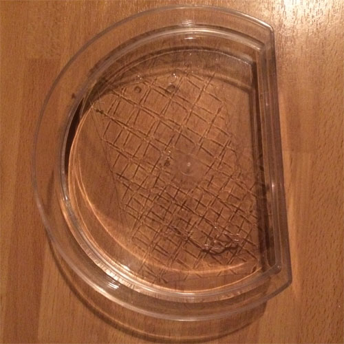 gelatine blaadjes weken in koud water