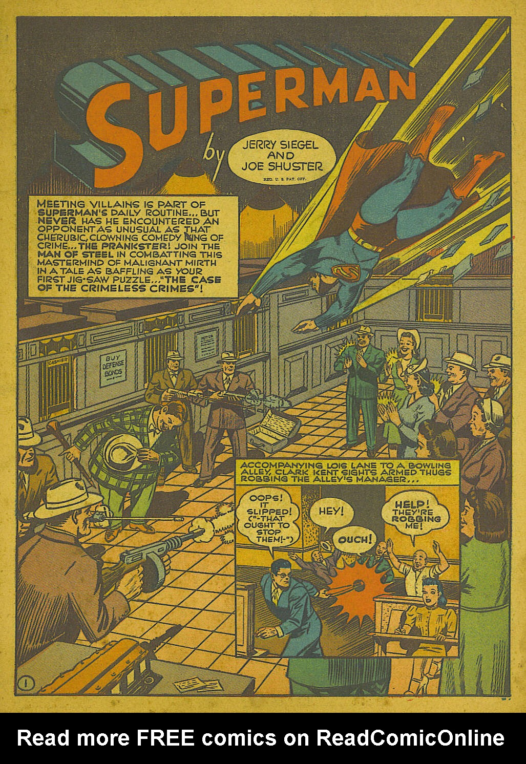 Read online Action Comics (1938) comic -  Issue #51 - 4