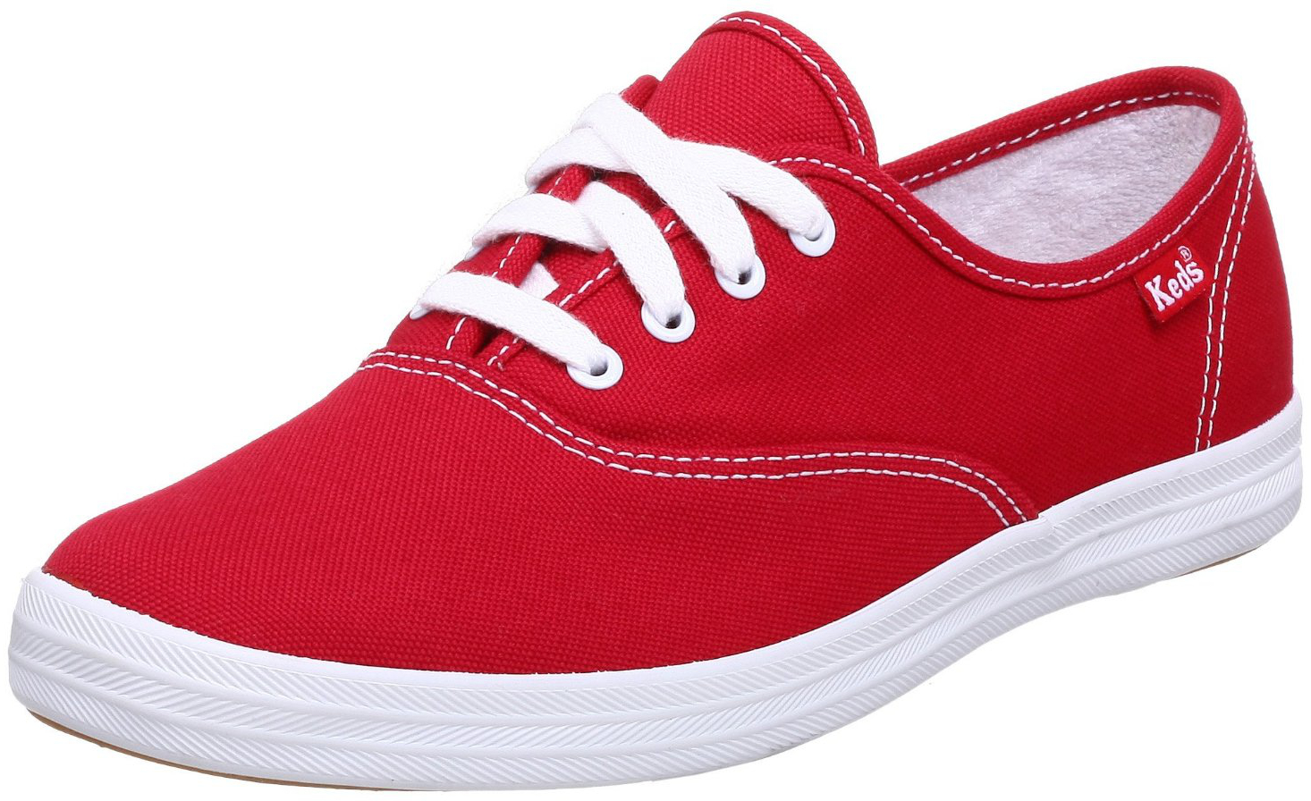 Casual Shoes Red And White