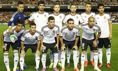Daftar Skuad Pemain Valencia 2016-2017