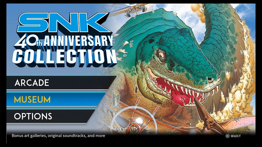 snk 40th anniversary collection ps4 prehistoric isle