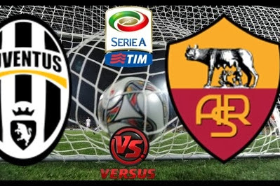 Big Match Serie A Italy Juventus vs AS Roma