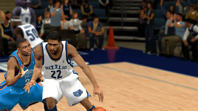 NBA 2K13 Rudy Gay Cyberface 2K Patch