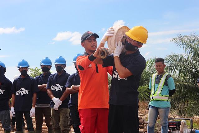 Penghargaan Pemerintah Sumatra Selatan untuk Komitmen Nol-Pembakaran Cargill