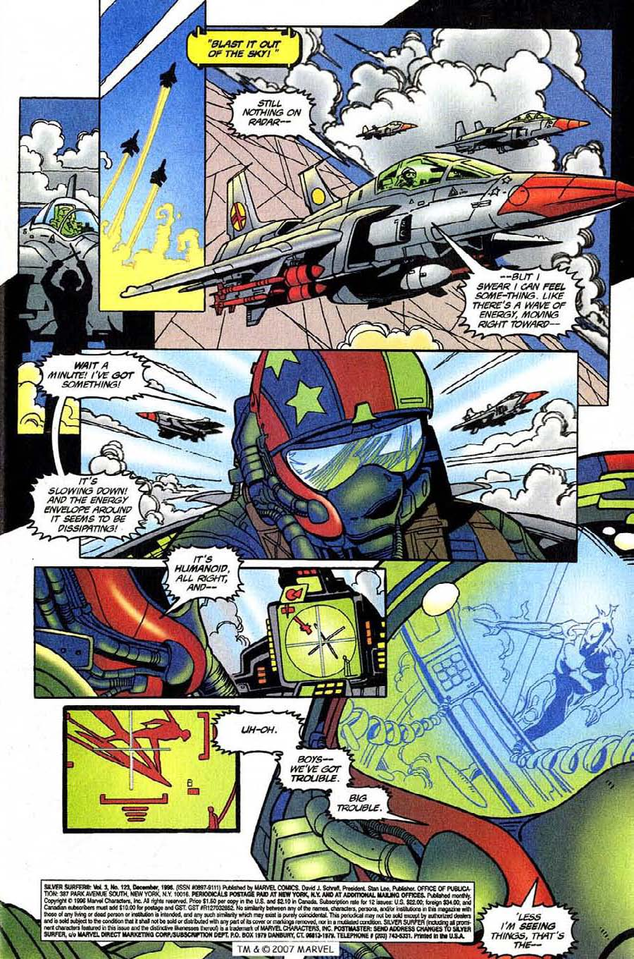 Read online Silver Surfer (1987) comic -  Issue #123 - 5