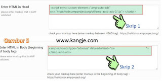 Cara Memasang Iklan Adsense Di Tengah Posting AMP For Wordpress