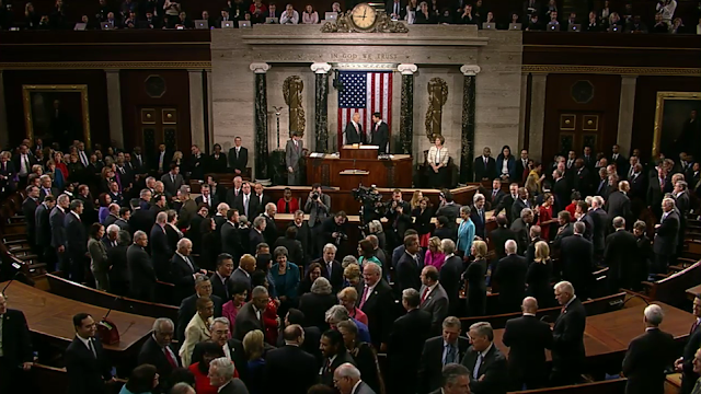 SOTU 2016 waiting for Obama