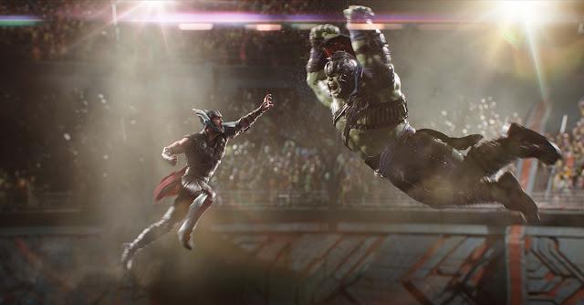 thor ragnarok vs hulk still