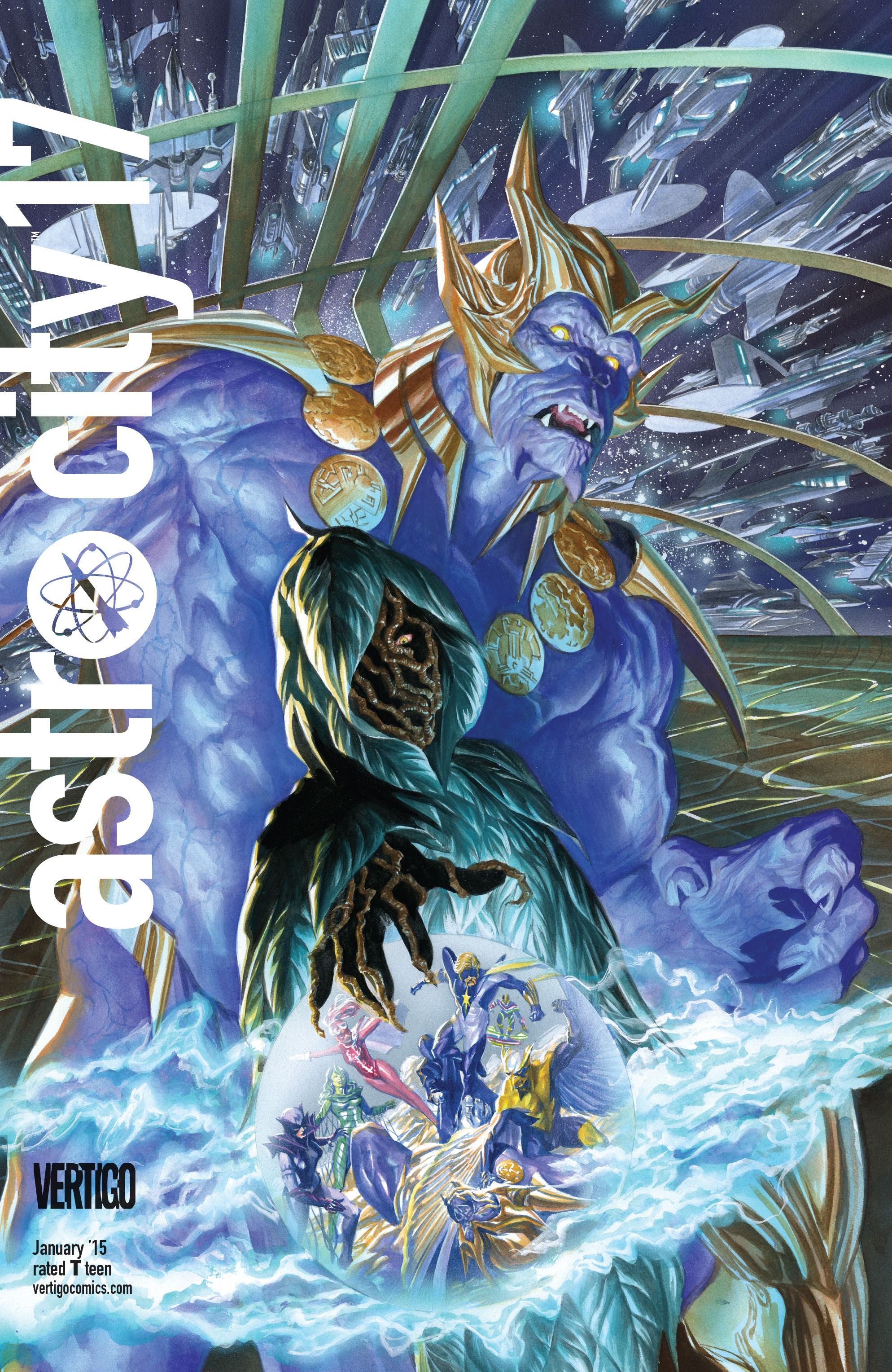 Read online Astro City comic -  Issue #17 - 1