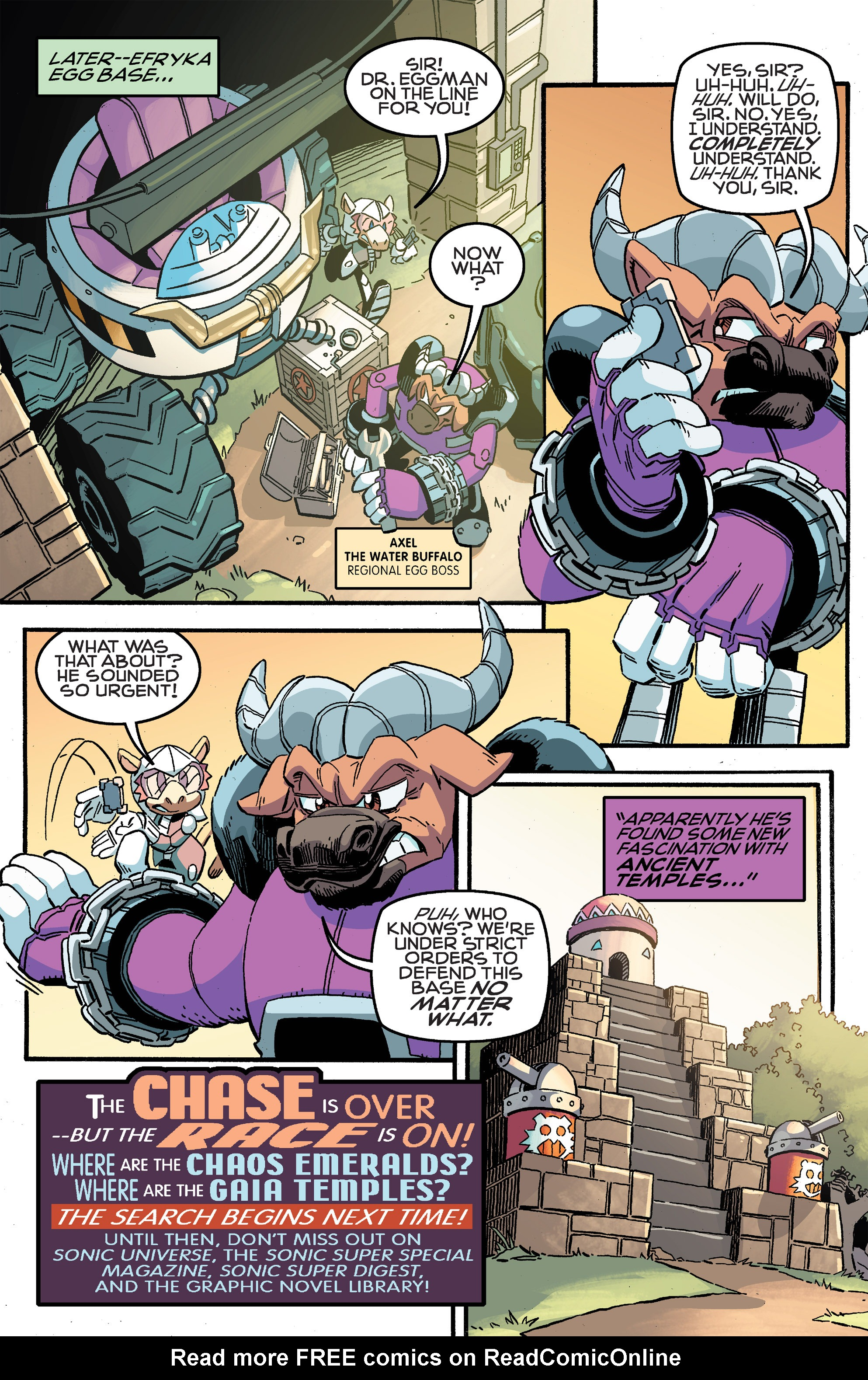Read online Sonic The Hedgehog comic -  Issue #259 - 26