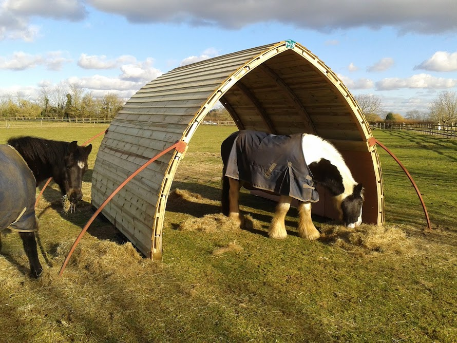 Our much loved mobile field shelters
