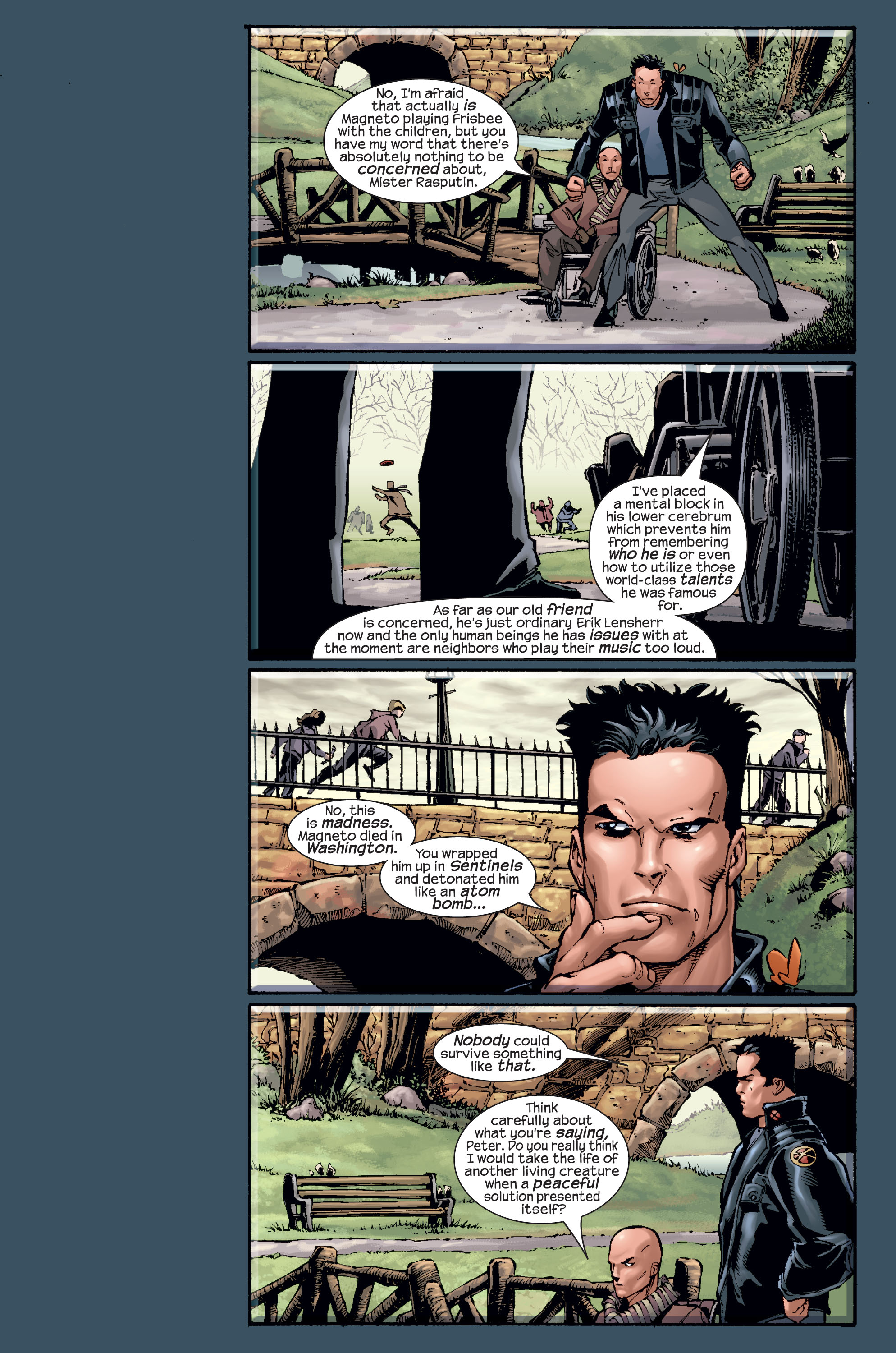Read online Ultimate X-Men comic -  Issue #15 - 17