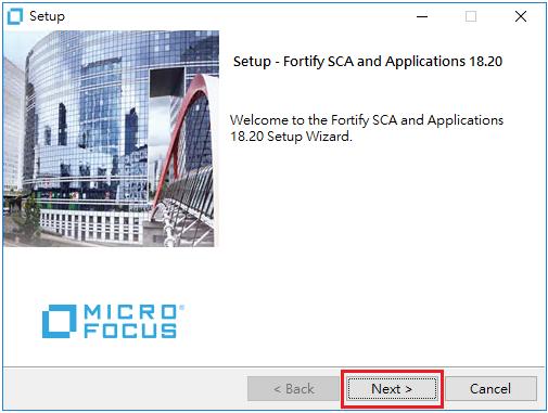 浮雲雅築: [研究] Micro Focus Fortify SCA 18 20 2 安裝