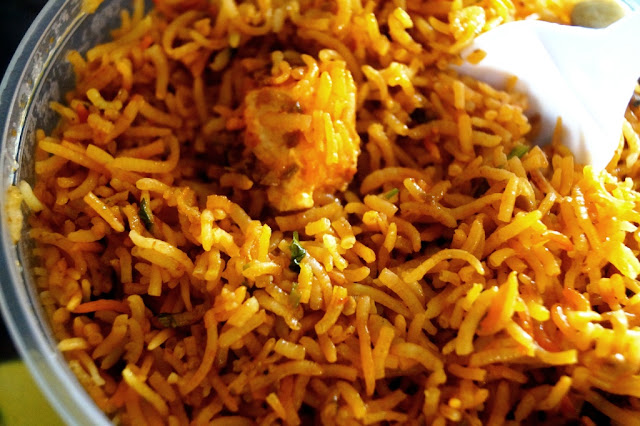 Vegetarian Indian Rice Dish