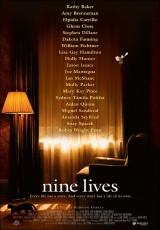"""Carátula del DVD: """"Nueve vidas"""""""