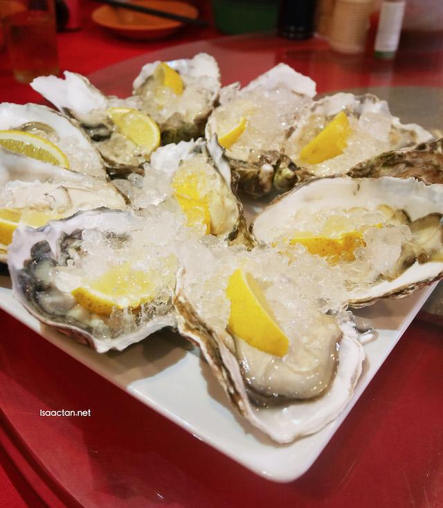Fresh Oysters - RM9 each