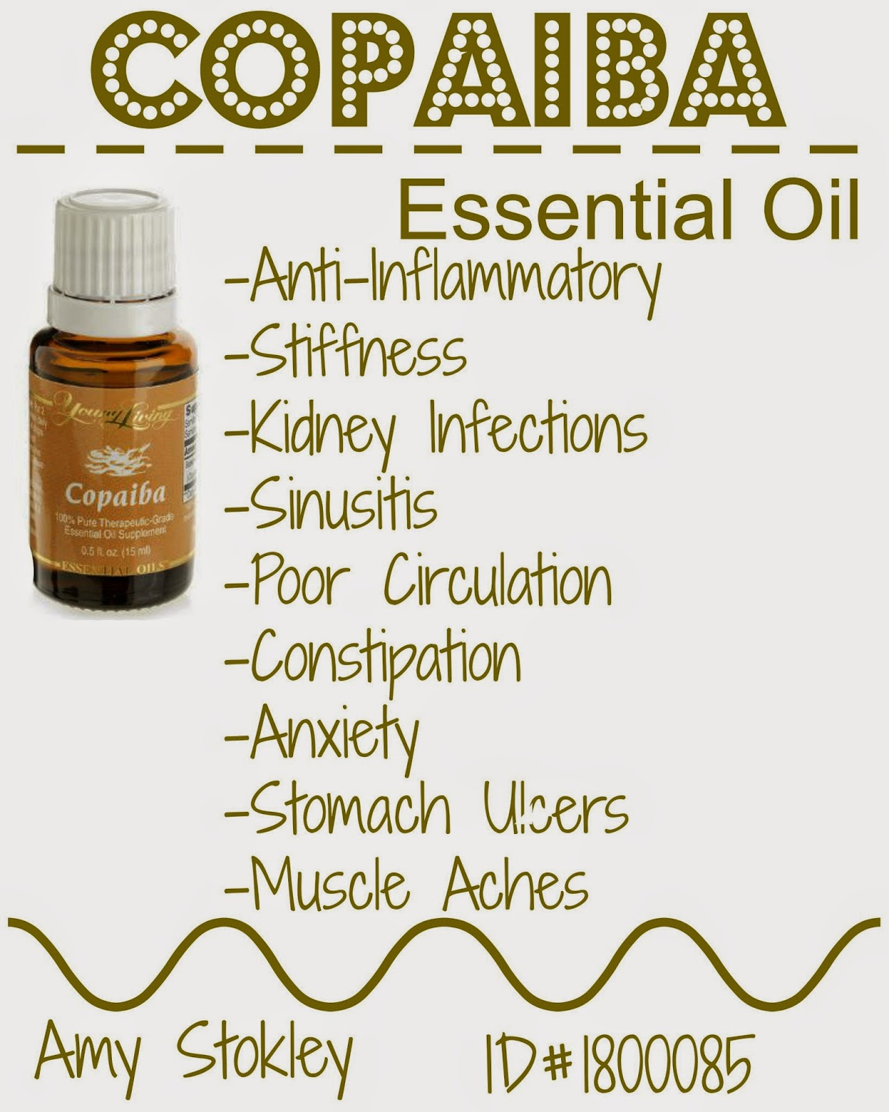 Drops Of Love Copaiba Essential Oil By Young Living