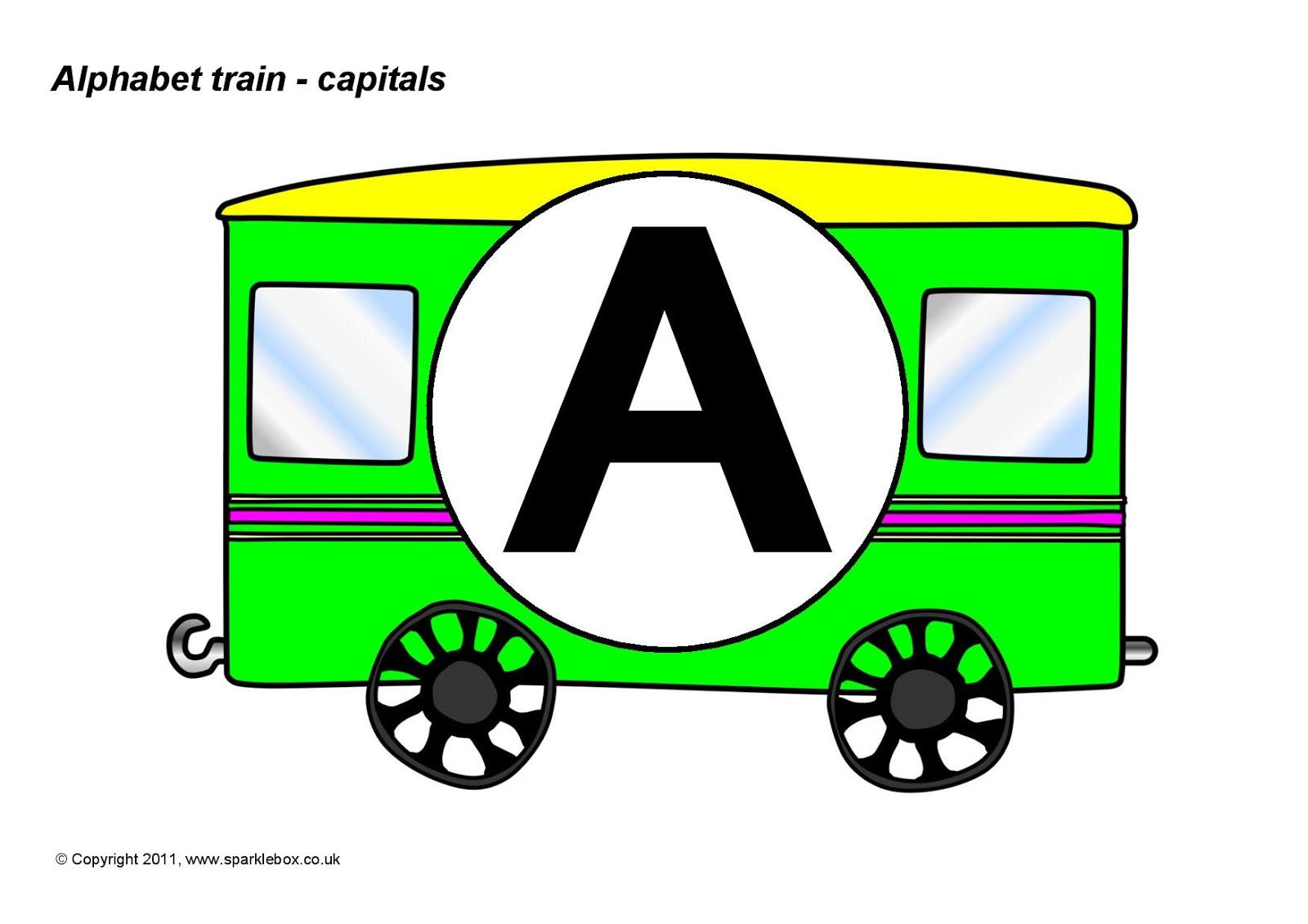 Alfabeto Trem Cartazes Para A Parede Da Sala Trenzinho Com