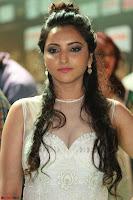 Meghana Gaur in a Deep Neck Sleeveless White Gown at IIFA Utsavam Awards 029.JPG