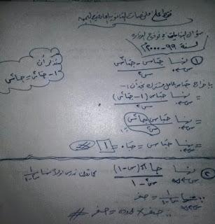 حل نماذج اختبارات رياضيات اليمن حل سؤال النهايات