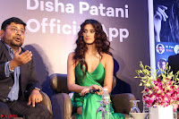 Disha Patani in Beautiful Green Gown at her App Launch 019.JPG
