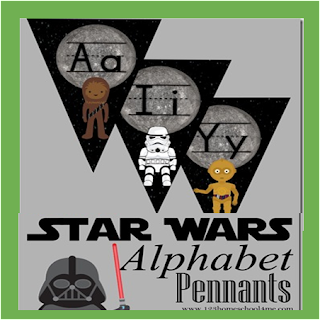 Star Wars Alphabet Wall Cards