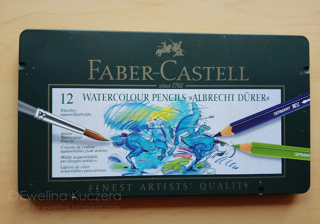 Faber Castell Albrecht Dürer Watercolour pencils - review