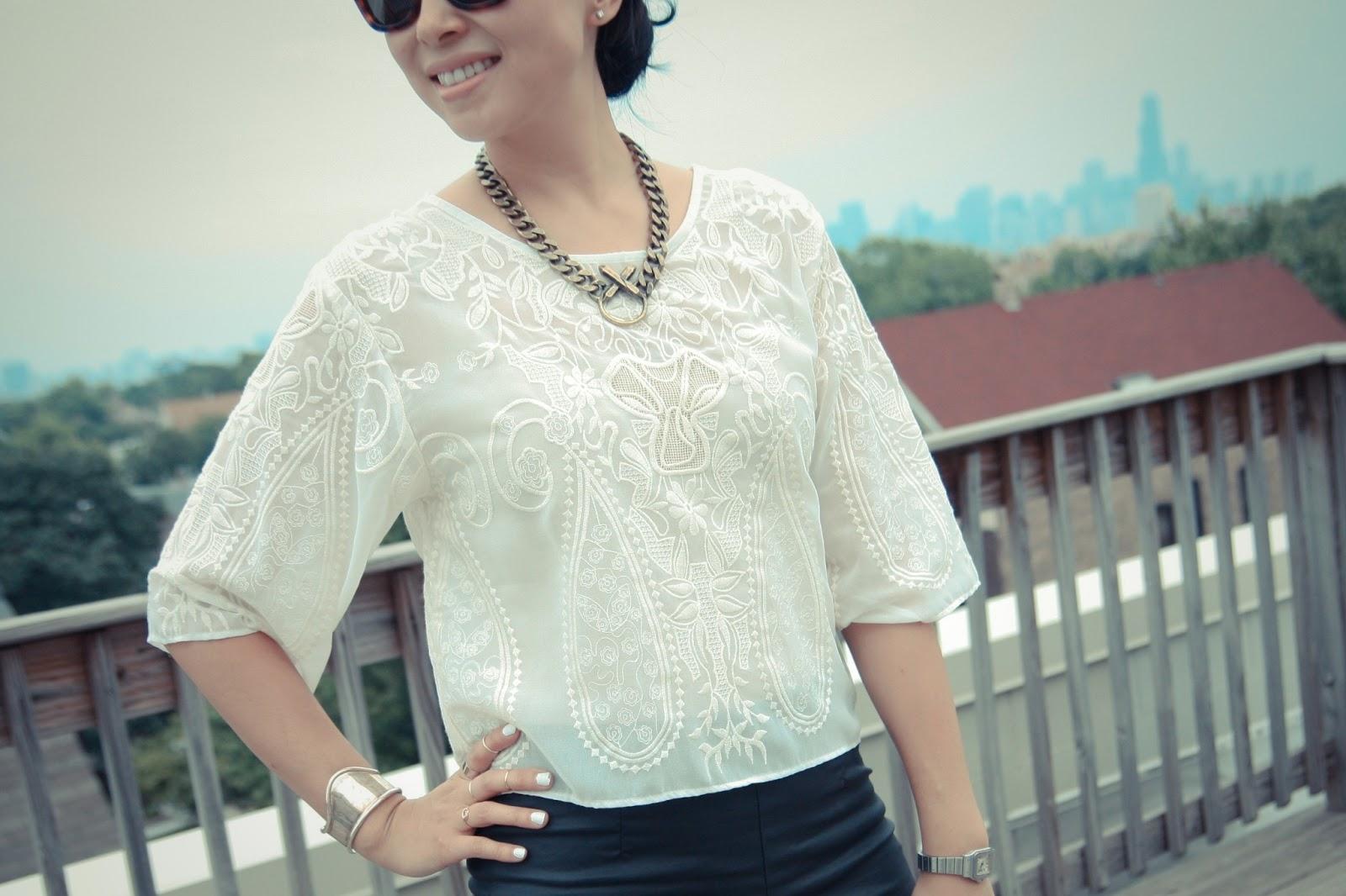 dress up files - a chicago fashion blog: Barong Tagalog Inspired