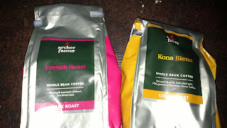 Dark Roast and Light Roast Coffee Beans to Blend