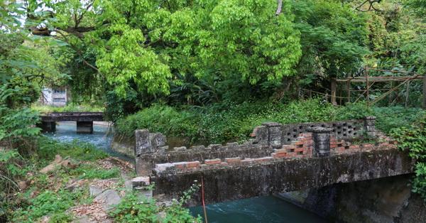 台中后里|后里泰安秘境,百年歷史建物-后里圳磚橋、八號隧道、縱貫鐵路舊山線