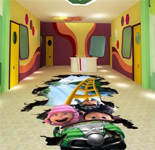 3d floor ideas up animated movie theme, animated floor in 3d