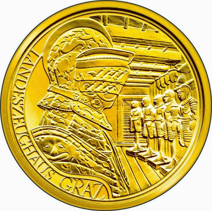 Austria 50 Euro Gold Coin 2011 Bicentenary of the Joanneum at Graz
