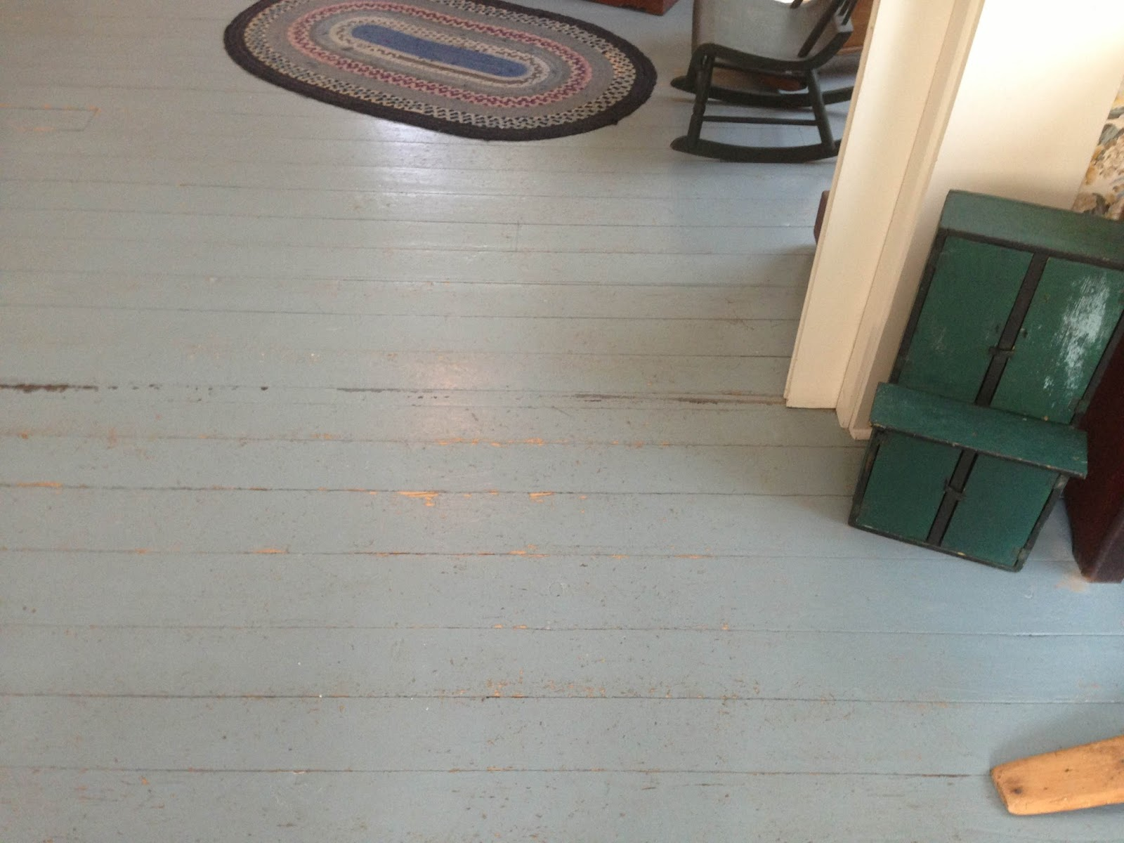 The Old House Blog Painted Floors In The Victorian Home