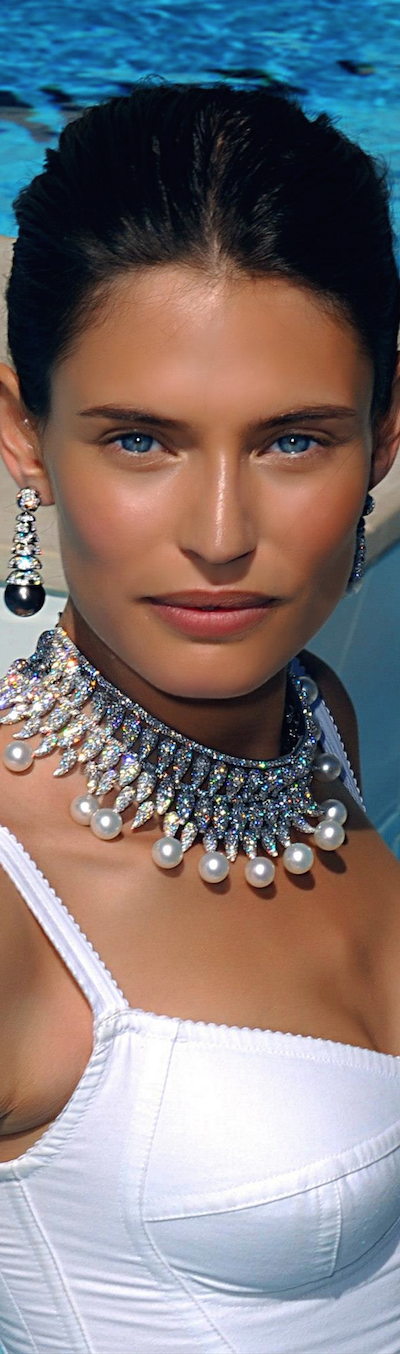 Bianca Balti for Grisogono Jewellery at Cannes 2011