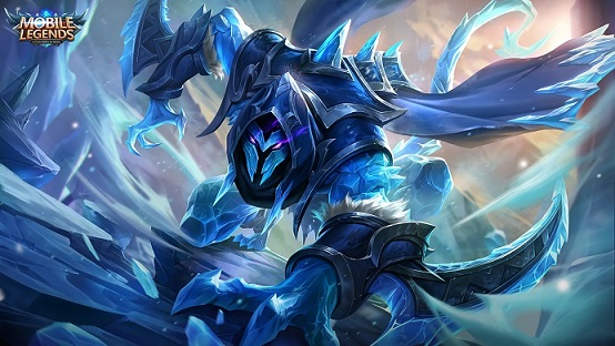 Helcurt Ice Scythe Mobile Legends