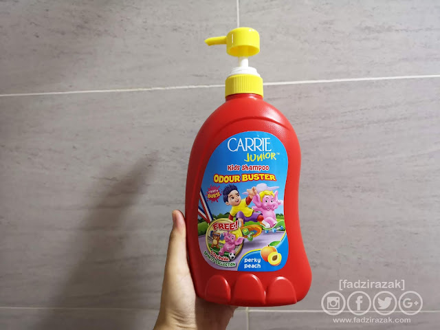 Carrie Junior Kids Shampoo Odour Buster