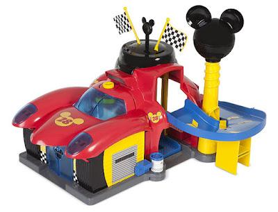 MICKEY Y LOS SUPERPILOTOS - Taller de Mickey : Garage | IMC toys | Serie Television 2017 | Disney Junior | JUGUETE