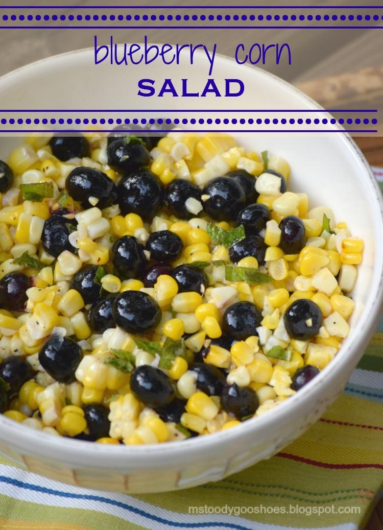 Blueberry Corn Salad: Tastes as good as it looks! | Ms. Toody Goo ...
