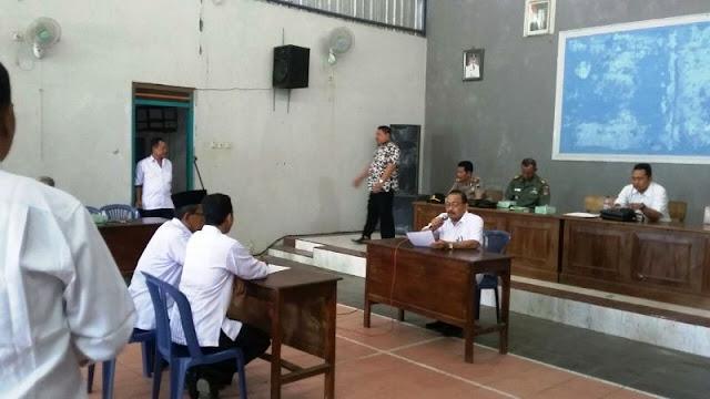 Pemdes Tambahmulyo Jakenan, Uji Calon Perangkat Desa