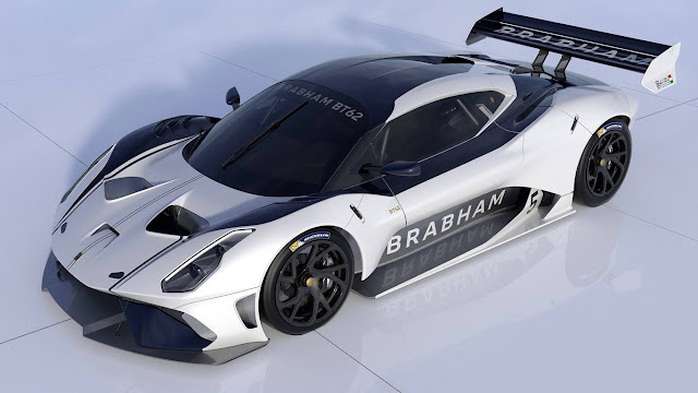 Brabham BT62 is a beast only suitable for circuit