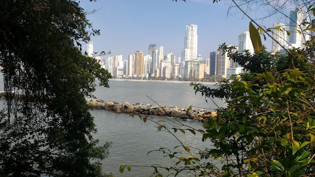 Balneário Camboriú vista desde a Praia do Canto