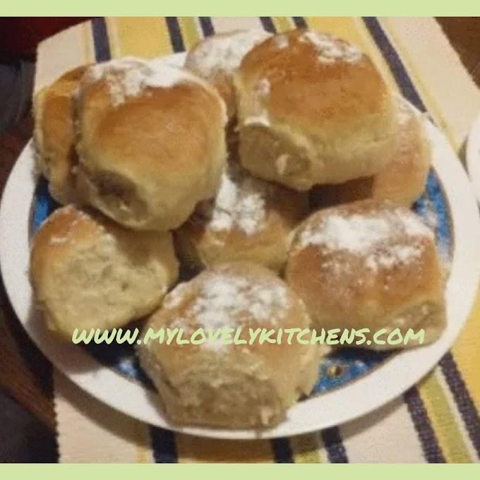 Punjene pogacice- Stuffed bannock