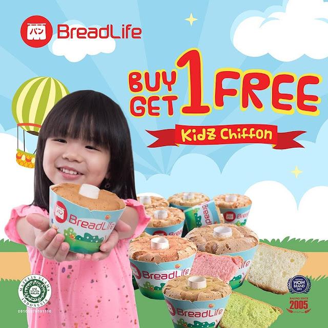 #BreadLife - #Promo Buy 1 Get 1 Free Kidz Chiffon Hanya 9,9K