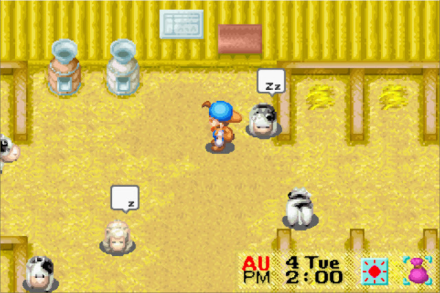 Harvest Moon: Friends of Mineral Town Screenshot